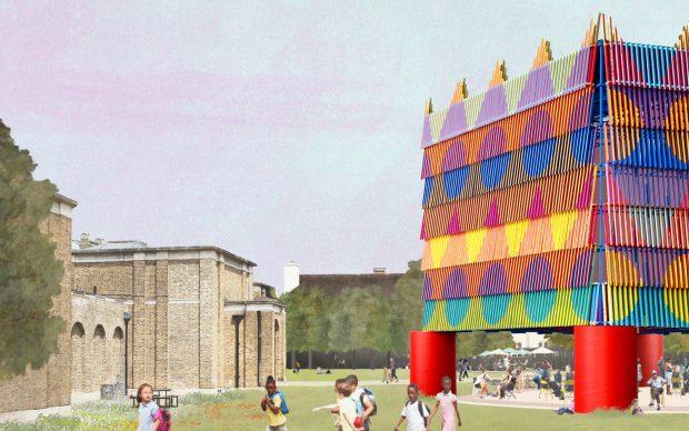 Dulwich Pavilion_Pricegore x Yinka Ilori_2019 London Festival of Architecture