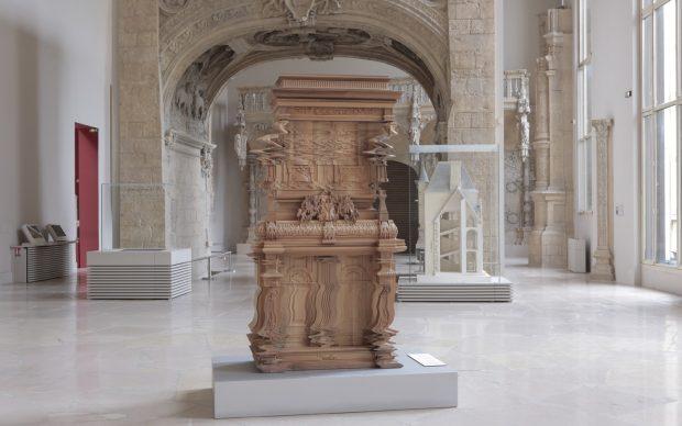 Ferruccio Laviani per Fratelli Boffi, Good Vibration, exhibition view © Gaston Bergeret, Cité de l'architecture & du patrimoine, Parigi, 2019