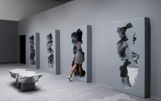 Hall of Broken Mirrors Conversation Design Museum Holon Israele