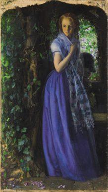 Arthur Hughes, Amore d'aprile, 1855-56, Tate: Purchased, 1909 © Tate, London 2019