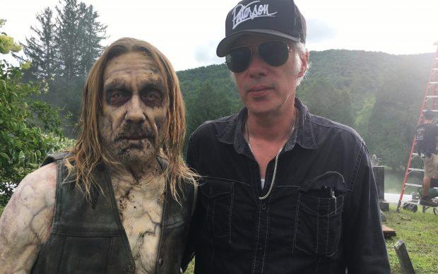 Iggy Pop e Jim Jarmush sul set di The Dead Don't Die