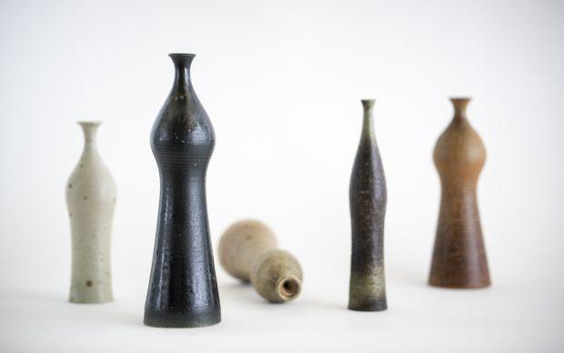 Kyllikki Salmenhaara, Bottles (1953). Design Museum. Photo Finnish National Gallery, Hannu Pakarinen.