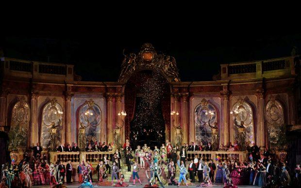 La Traviata regia Franco Zeffirelli Arena di Verona