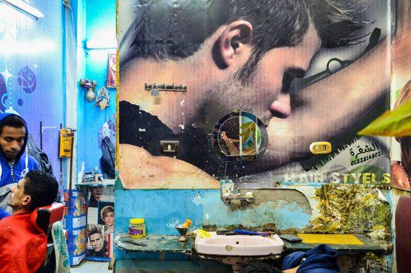 The Barber Shop. Nadia Mounier (born 1988), 2015. C-Print, 70 x 100 cm © Nadia Mounier