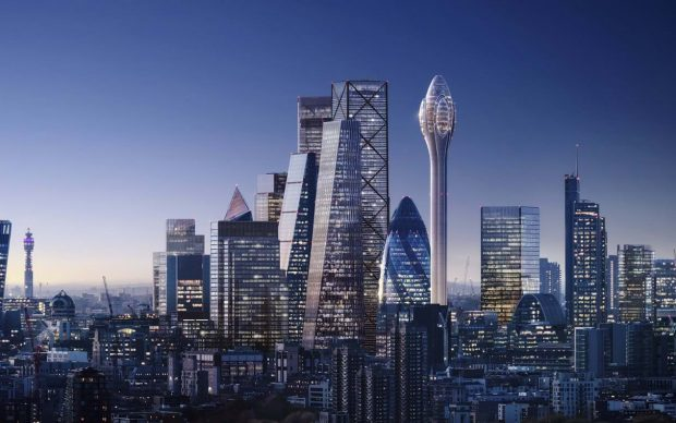 Norman Foster Partners The Tulip Tower Londra