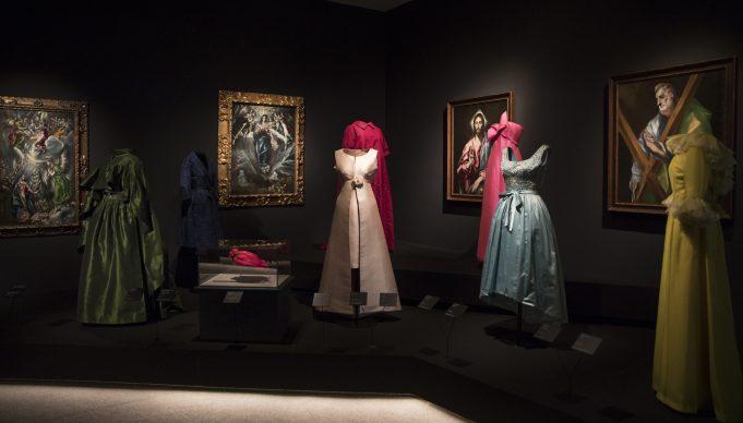 Balenciaga and Spanish Painting, fino al 22 settembre al Museo Nacional Thyssen-Bornemisza. Vista dell'allestimento