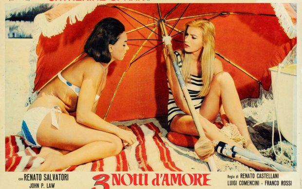 Tre notti d'amore 1964 Regia Renato Castellani fotobusta