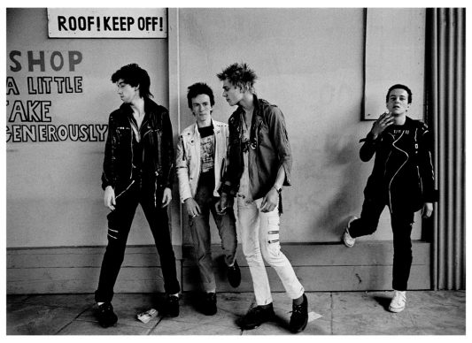 The Clash - London Westway Photosessions - 1977. Photo Credit: © Adrian Boot