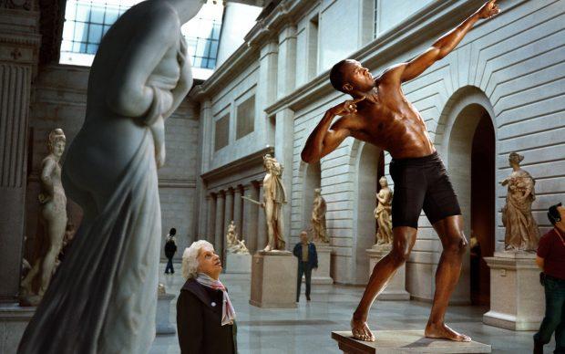 #1 Usain Bolt at The Metr opolitan Museum of Art. New York – 2009 © Martin Schoeller