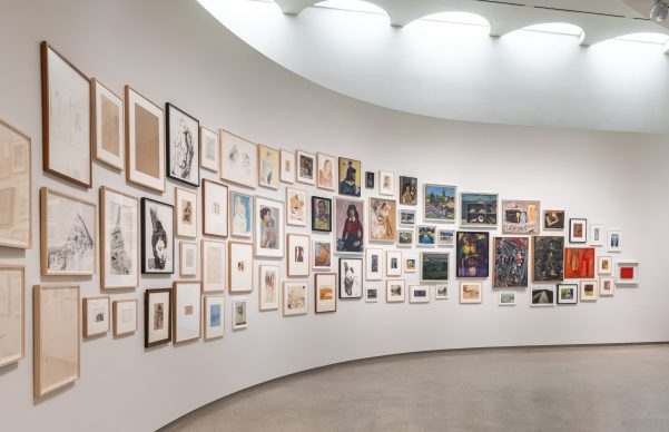 Installation View: Artistic License: Six Takes on the Guggenheim Collection, Solomon R. Guggenheim Museum, New York, May 24, 2019 – January 12, 2020. Photo: David Heald. © Solomon R. Guggenheim Foundation