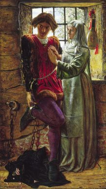 William Holman Hunt, Claudio e Isabella, 1850. Tate: Presented by the Trustees of the Chantrey Bequest 1919 © Tate, London 2019