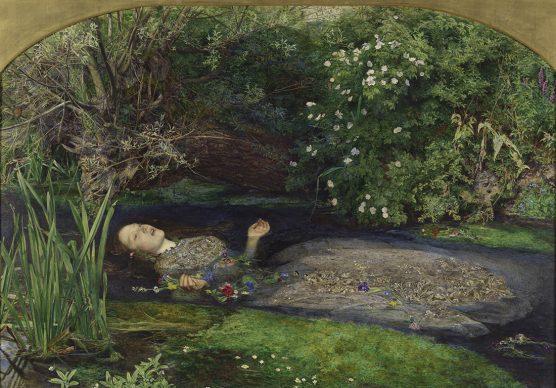 John Everett Millais, Ofelia, 1851-52. Tate: Presented by Sir Henry Tate, 1894 © Tate, London 2019