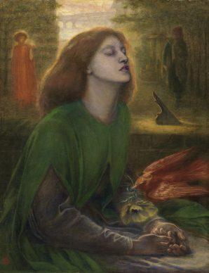 Dante Gabriel Rossetti, Beata Beatrix, ca. 1864-70, Tate: Presented by Georgiana, Baroness Mount-Temple in memory of her husband, Francis, Baron Mount-Temple, 1889 © Tate, London 2019