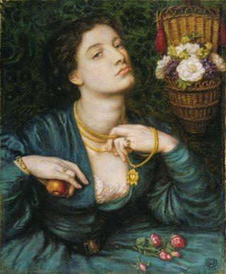 Dante Gabriel Rossetti, Monna Pomona, 1864. Tate: Presented by Alfred A. de Pass, 1910 © Tate, London 2019