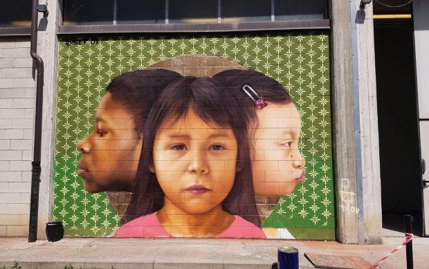 SEF.01 Murale MUDEC Museo delle Culture Milano
