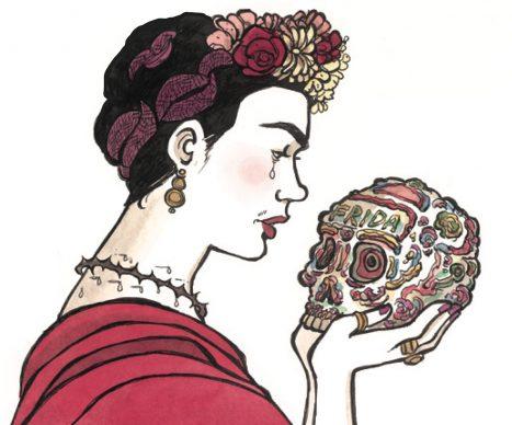 """Vanna Vinci, Illustrazione tratta dalla tavola 80 di """"Frida Kahlo. Operetta amorale""""  © Vanna Vinci  © 24 ORE Cultura, Milano"""