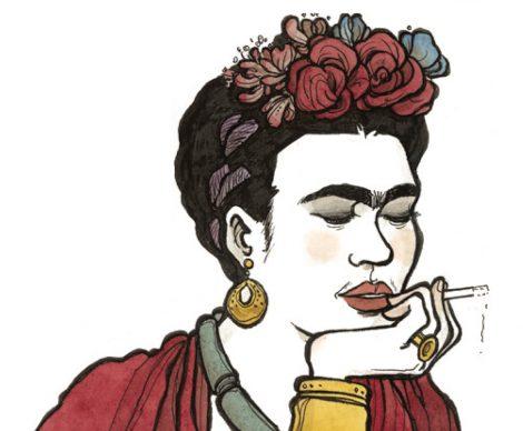 """Vanna Vinci, Bozzetto preparatorio per """"Frida Kahlo. Operetta amorale"""" © Vanna Vinci © 24 ORE Cultura, Milano"""