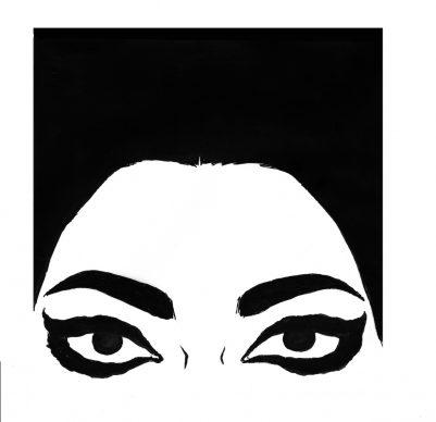 """Vanna Vinci, Disegno per la copertina di """"Io sono Maria Callas"""" © Vanna Vinci: Feltrinelli Comics"""