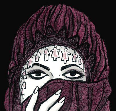 """Vanna Vinci, Illustrazione tratta dalla tavola 121 di """"Io sono Maria Callas"""" © Vanna Vinci: Feltinelli Comics"""