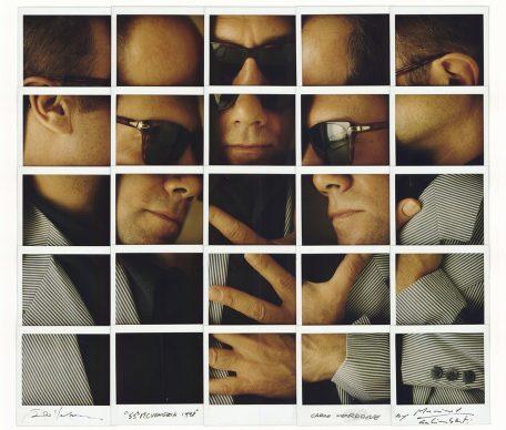 Maurizio Galimberti, Carlo Verdone, 55. Mostra del cinema di Venezia, 1998