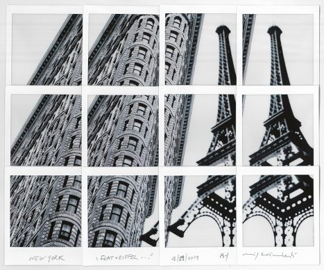 Maurizio Galimberti, Flat + Eiffel… New York, 19.4.2019
