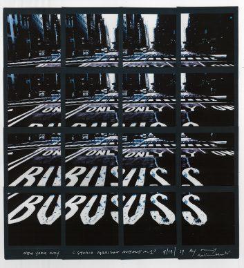 Maurizio Galimberti, Studio Madison Avenue n.1 New York, 19.4.2019