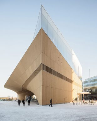 Helsinki Central Library Oodi by ALA Architects. Photo credit: © Tuomas Uusheimo