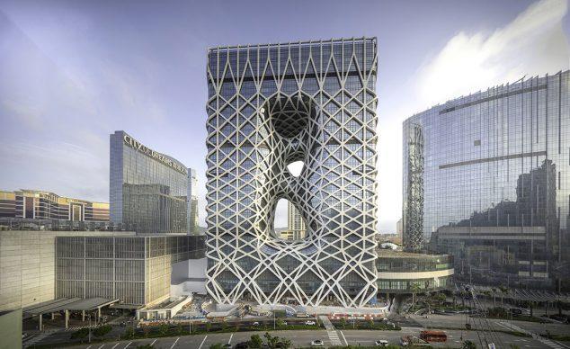 Morpheus Hotel by Zaha Hadid Architects. Photo credit: © Ivan Dupont