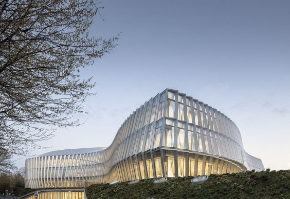 Olympic House, the International Olympic Committee's Headquarters by 3XN. Photo credit: © Adam Mørk