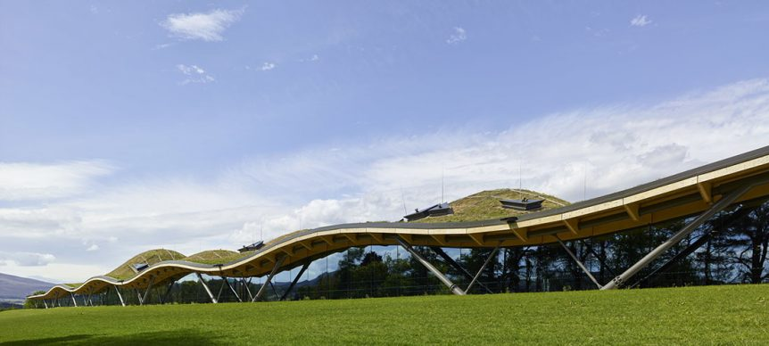 The Macallan Distillery and Visitor Experience by Rogers Stirk Harbour + Partners. Photo credit: © Rogers Stirk Harbour + Partners