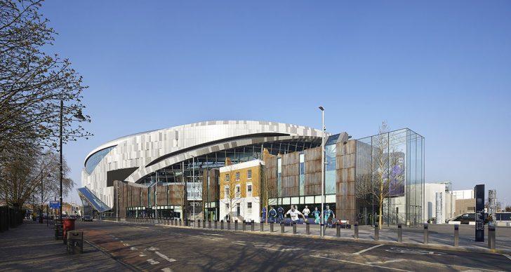 Tottenham Hotspurs Stadium by Populous. Photo credit: © Populous