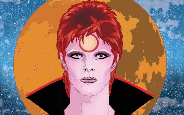 Bowie graphic novel michael allred steve horton prefazione neil gaiman