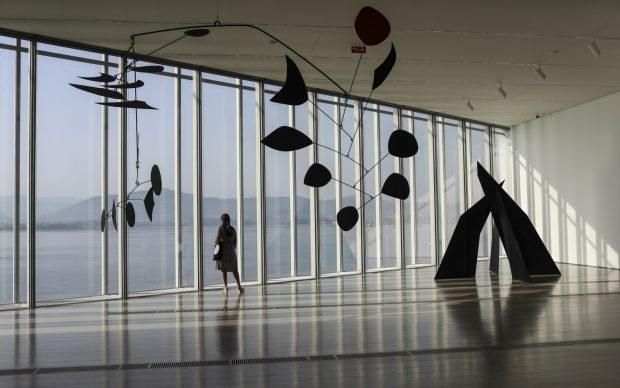 Exposición Calder Stories. Vista de sala. Foto: Belén de Benito