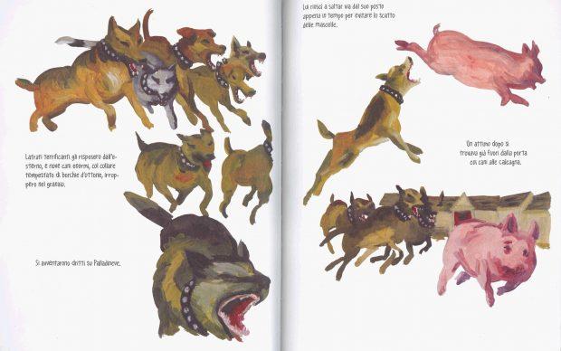 George Orwell La fattoria degli animali graphic novel Mondadori Ink