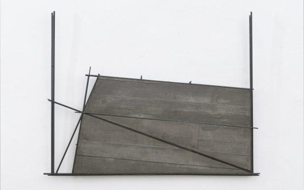 Giuseppe Uncini, Spazi Cemento n.28, 1995 cemento e ferro cm 101 x 132 Courtesy Collezione Privata