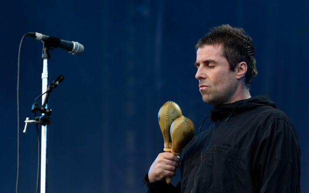 Liam Gallagher live nel 2018, photo by Thesupermat, fonte Wikipedia
