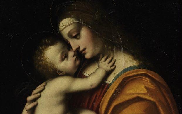 Marco d'Oggiono, Madonna col Bambino
