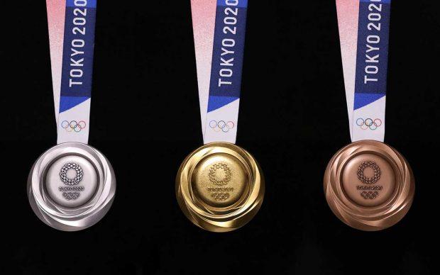 Medaglie riciclate giochi olimpici tokyo 2020