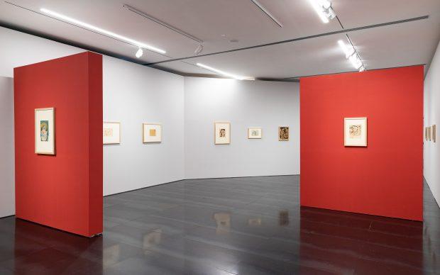 Nel Novecento_da Modigliani a Schiele da De Chirico a Licini_panoramica