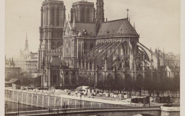 Notre-Dame foto d'epoca