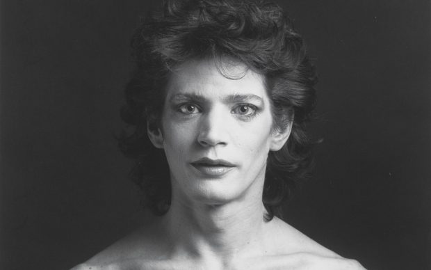 Robert Mapplethorpe_Self-Portrait_1980