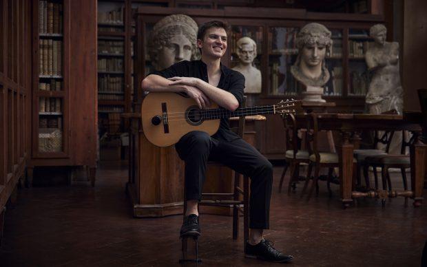 Samuel Kreusler, one of five Australian artists in Florence reimagining Michelangelo's perfection for the University of Melbourne