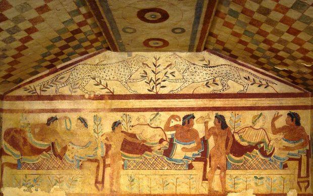 Tarquinia, Necropoli di Monterozzi, Tomba dei Leopardi