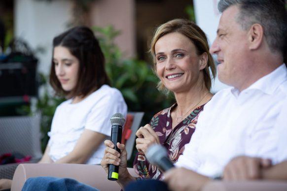 Angela Fontana, Lucia Mascino e Roberto Pisoni al Festival di Tavolara 2019