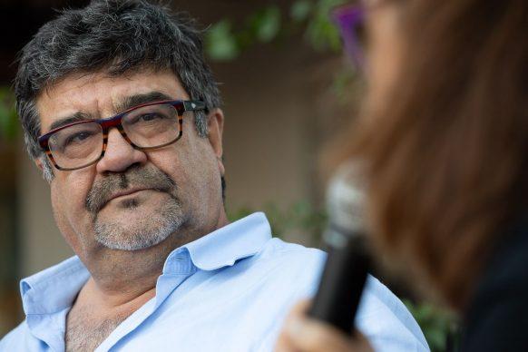 """Francesco Pannofino, voce narrante del film """"Io, Leonardo"""", prossimamente al cinema, fra gli ospiti del Festival di Tavolara 2019"""