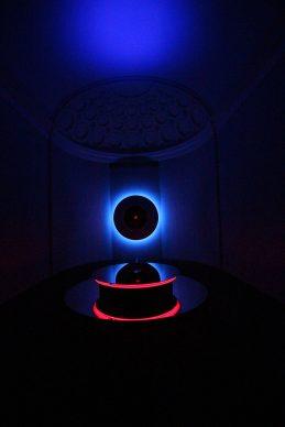 Nanda Vigo, Light Project, exhibition view at Palazzo Reale, Milano 2019, Genesis, photo credit Marco Poma. Courtesy Archivio Nanda Vigo