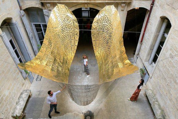 Le Papillon d'Or - Cristina Nan, Dirce Medina Patatuchi, Carlos Bausa Martinez -Édimbourg, Ecosse / Londres, Angleterre Public Award FAV 2019. Photo credit: © photoarchitecture © FestivaldesArchitecturesVives