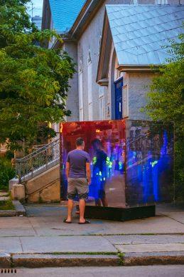 Space cube - Marie-Eve Martel (Blainville)  Photo credit: Stéphane Bourgeois