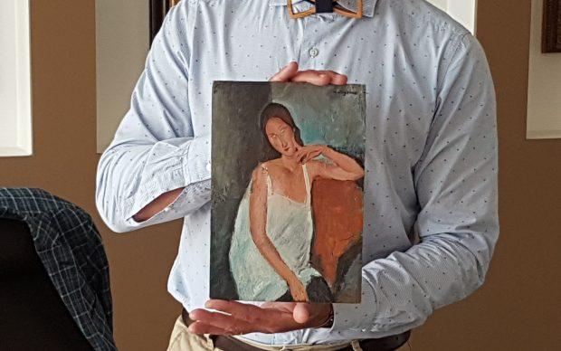 Bozzetto Modigliani autenticato