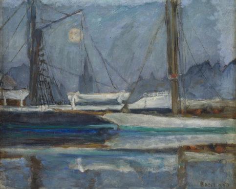 Pierre Bonnard, Il Bacino degli Yachts a Deauville, 1910 ca. Collection Association Peindre en Normandie, Caen